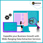 Expedite Your Business Growth With Wide-ranging Data Extraction Services